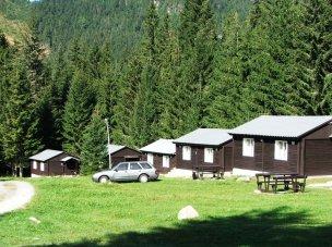 Uspořádání bungalovů