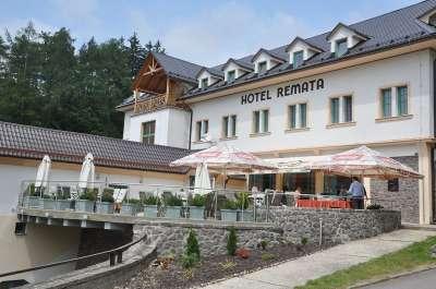 Hotel Remata - terasa
