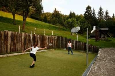 Hřiště na Badminton