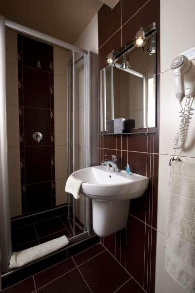 Koupelna v budově A