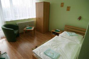 Jednolůžkový pokoj
