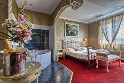 Luxusní dvoulůžkové apartmá