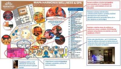 Mapa rekonstrukce wellness Harmonia