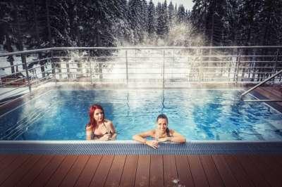 Venkovní sedací bazén