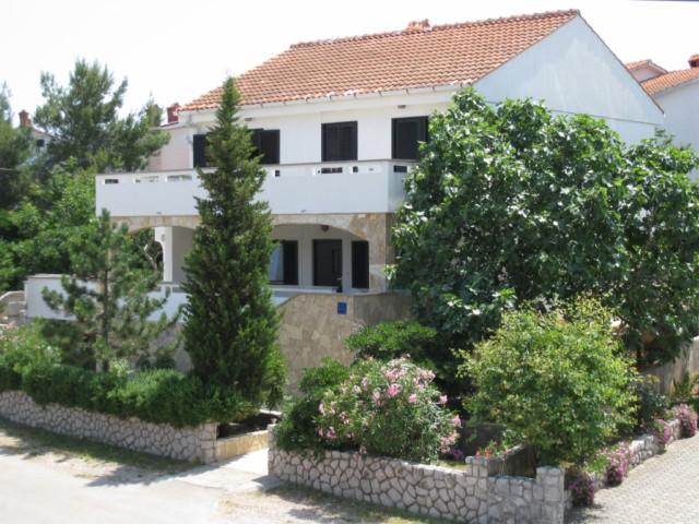 Příklad ubytování vila Brnić