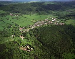 Místo v Krušných horách foto