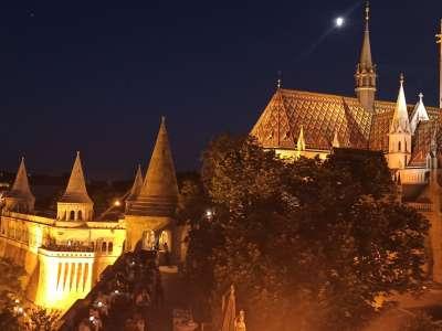 Budapešť foto